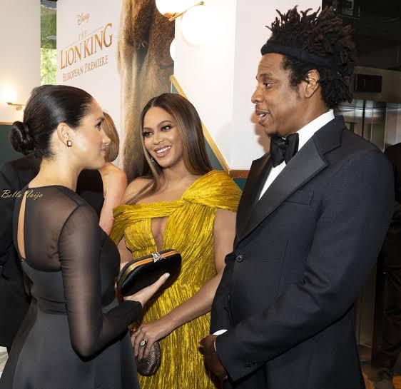 Beyoncé & Meghan Markle Meet Publicly For The First Time (Photos)