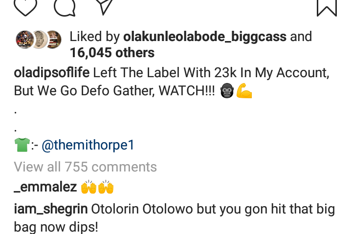 """""""I Left Reminisce's Record Label With Just N23,000 In My Bank Account"""" — Oladips"""