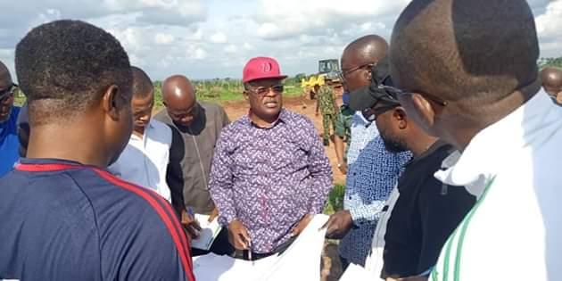 Dave Umahi Kicks Off Construction Of New International Airport & Stadium In Ebonyi (Photos)