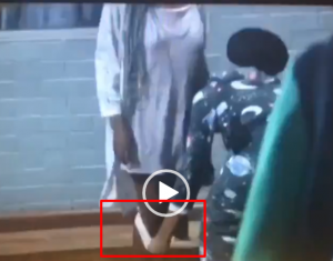 #BBNaija: Diane removes her pant before other housemates