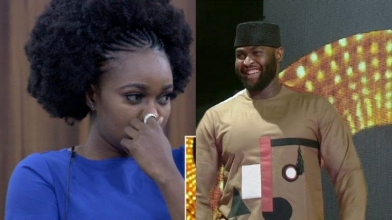 #BBNaija: Nelson and Thelma Evicted From The House