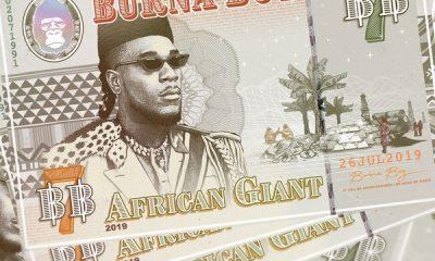 Burna Boy African Giant Album Zip Download