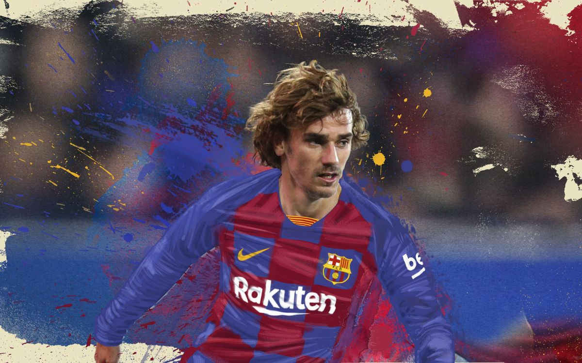 Antonio Griezmann Signs For Barcelona For €120M