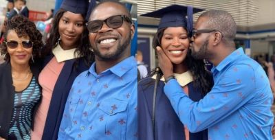 JJC Skillz' First Daughter, Tamira Graduates From UK University (Photos)