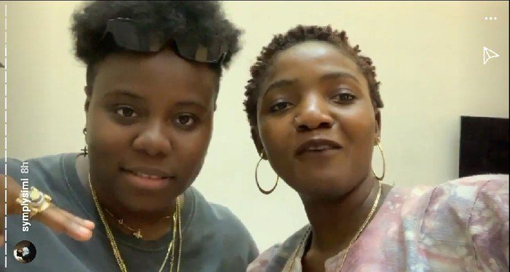 Simi and Teni Working On A New Song