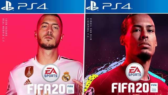 Hazard & Van Dijk Replace Ronaldo As FIFA 20 Cover Stars
