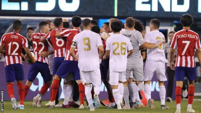 Real Madrid 3 – 7 Atletico Madrid Highlight Download