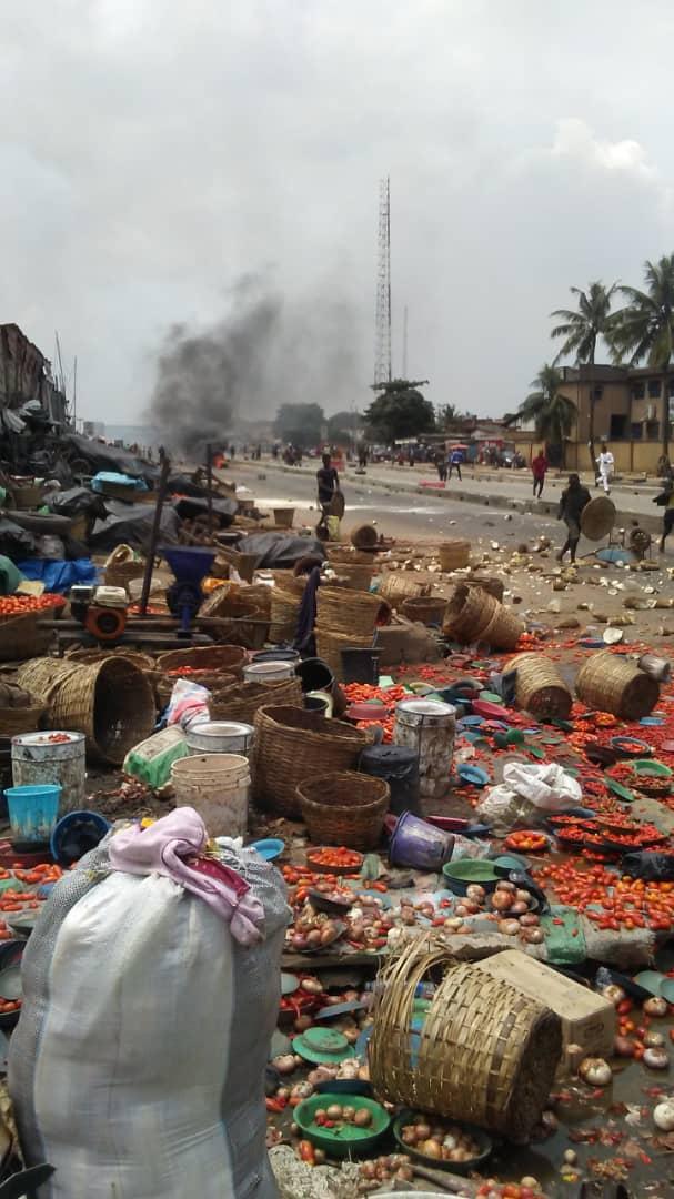 Yoruba And Hausa Youths Clash In Oke-Odo, Lagos (Photos)