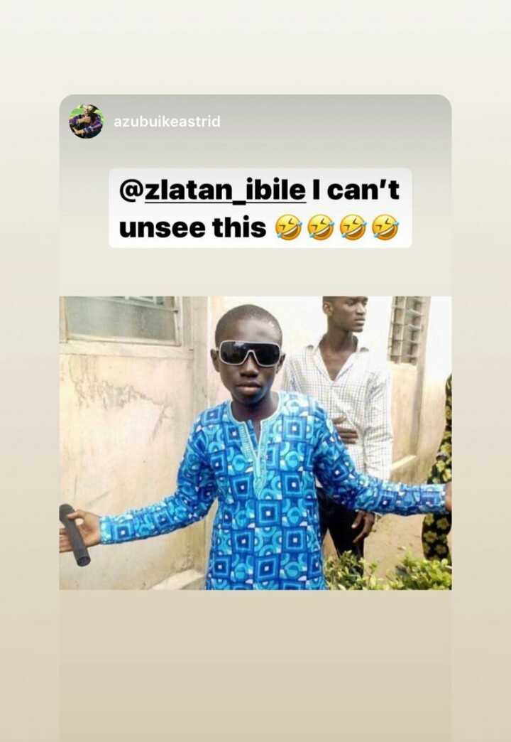 Checkout Throwback Pictures Of Zlatan Ibile 9
