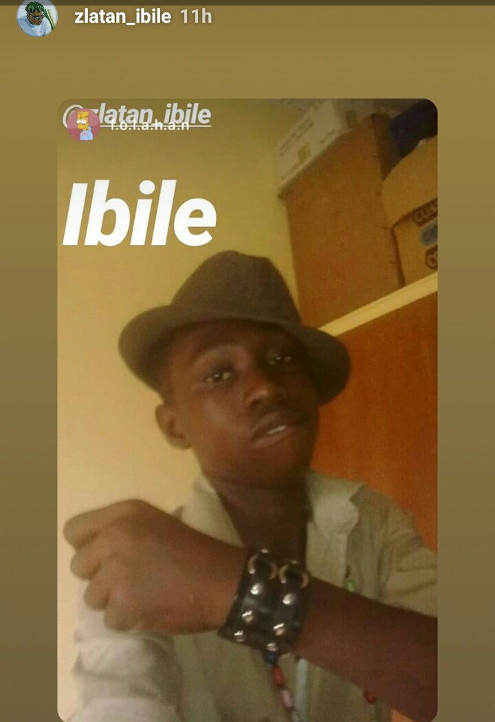 Checkout Throwback Pictures Of Zlatan Ibile 7