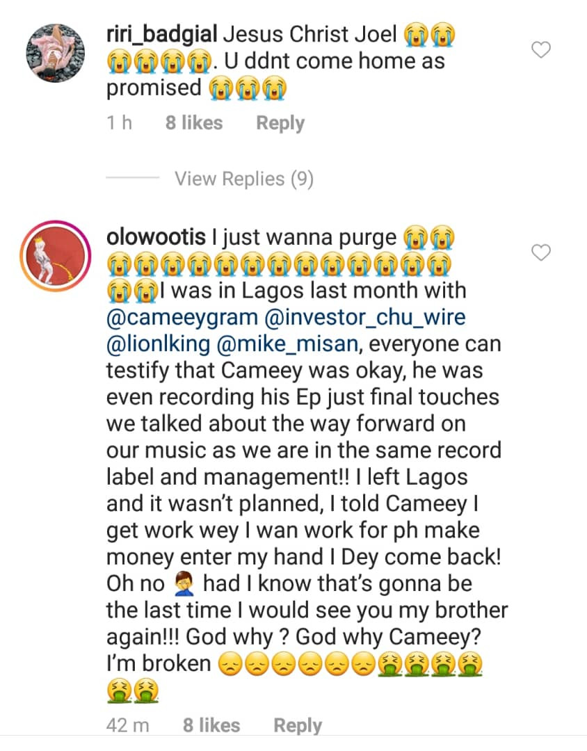 Nigerian Rapper Cameey Dies Of Cancer