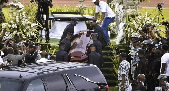 Photos and Videos From Late DJ Arafat Grand Funeral Concert 10