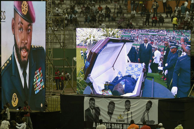 Photos and Videos From Late DJ Arafat Grand Funeral Concert 11