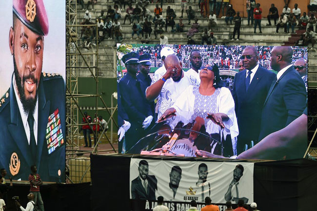 Photos and Videos From Late DJ Arafat Grand Funeral Concert 12