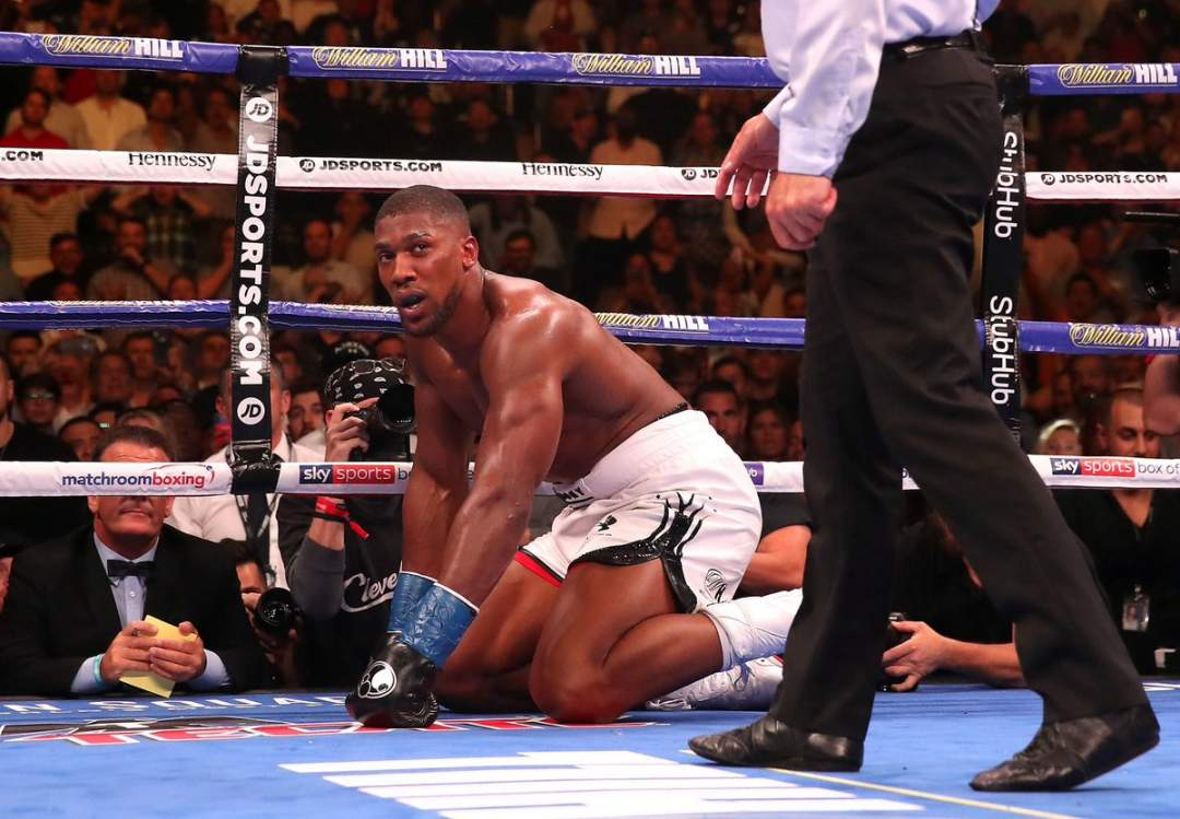 Anthony Joshua Finally Reveals Why He Lost To Andy Ruiz Jr In New York