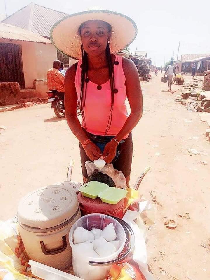 I Make More Money Than Salary Earners – Graduate Who Sells Food Using A Wheelbarrow 9