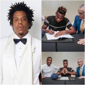 US rapper Jay Z signs Super Eagles winger Samuel Chukwueze