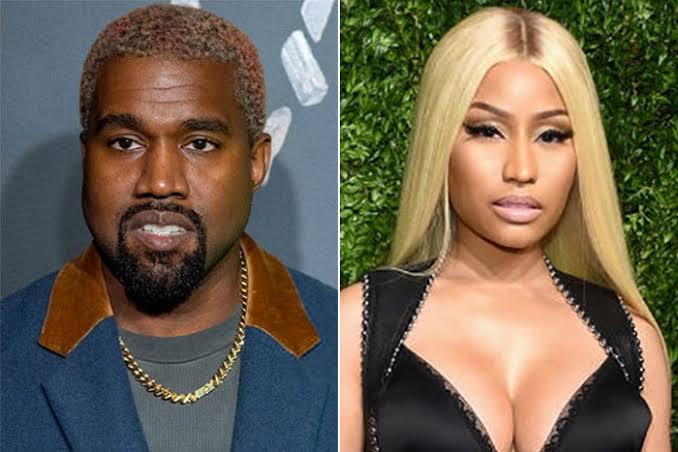 Kanye West Is Now A Born–Again Christian — Nicki Minaj