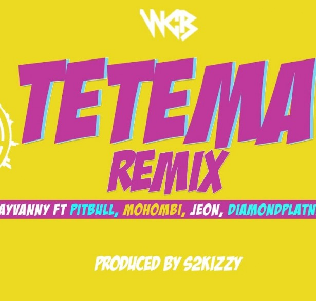 Rayvanny Tetema (Remix) Ft Pitbull, Mohombi, Jeon & Diamond Platnumz Mp3 Download