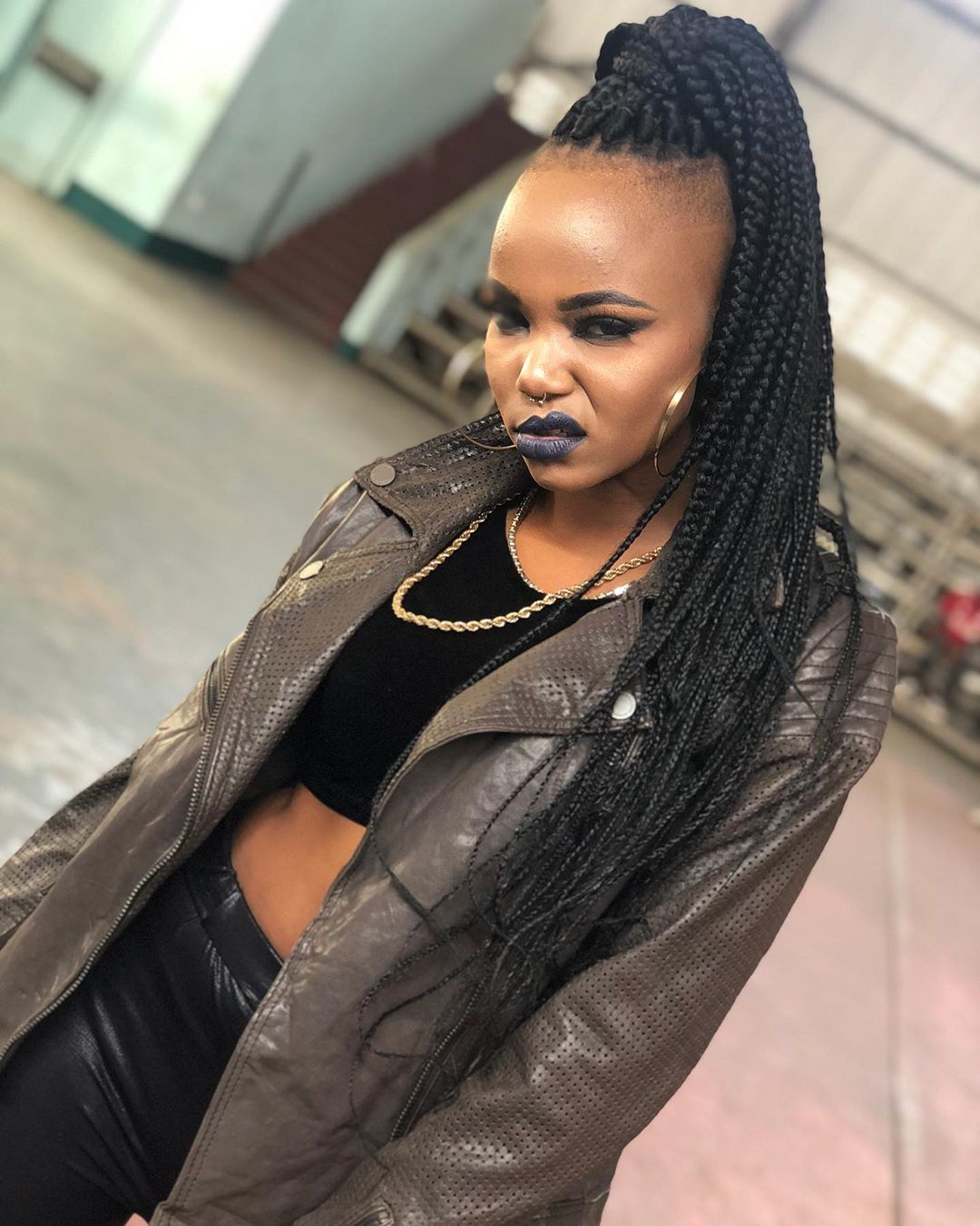 Female Rapper, Rosa Ree Goes Completely Náked In New Photo