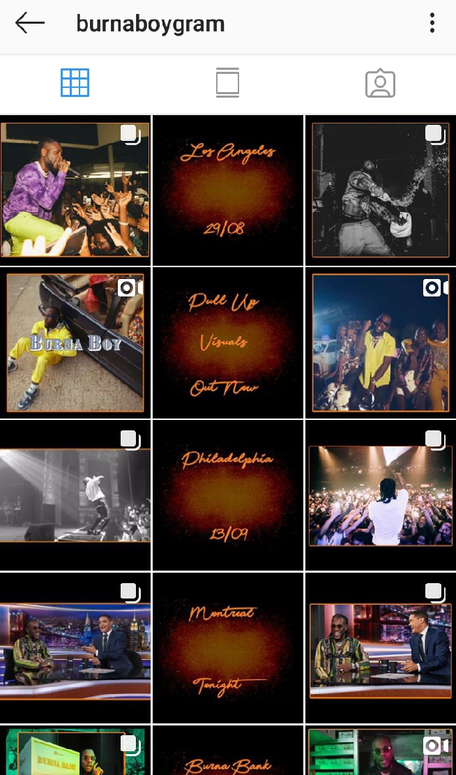 Stefflon Don Deletes Burna Boy's Pictures From Her Instagram Page 6
