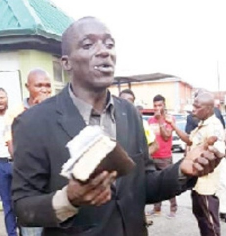 Evangelist Caught After Stealing Phones While Preaching In Ibadan