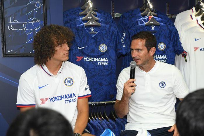 David Luiz Reveals What Lampard Said That Made Him Leave Chelsea