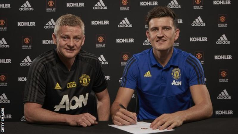 Manchester United Signs Maguire For £80m