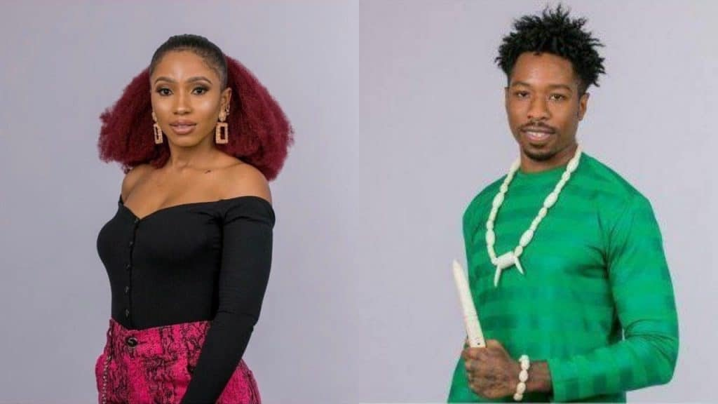 #BBNaija: Mercy and Ike Fight Over The N60million Prize
