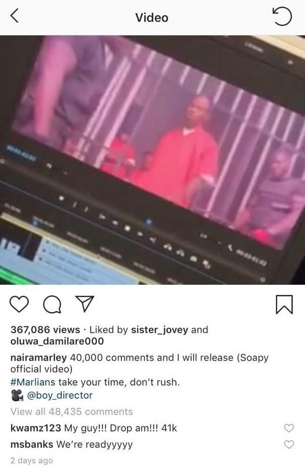 Naira Marley Breaks Instagram Record In Africa
