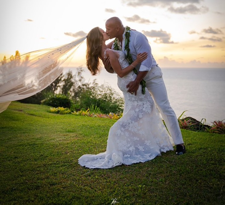 Dwayne 'The Rock' Johnson Gets Married His Longtime Girlfriend Lauren Hashian (Photos)