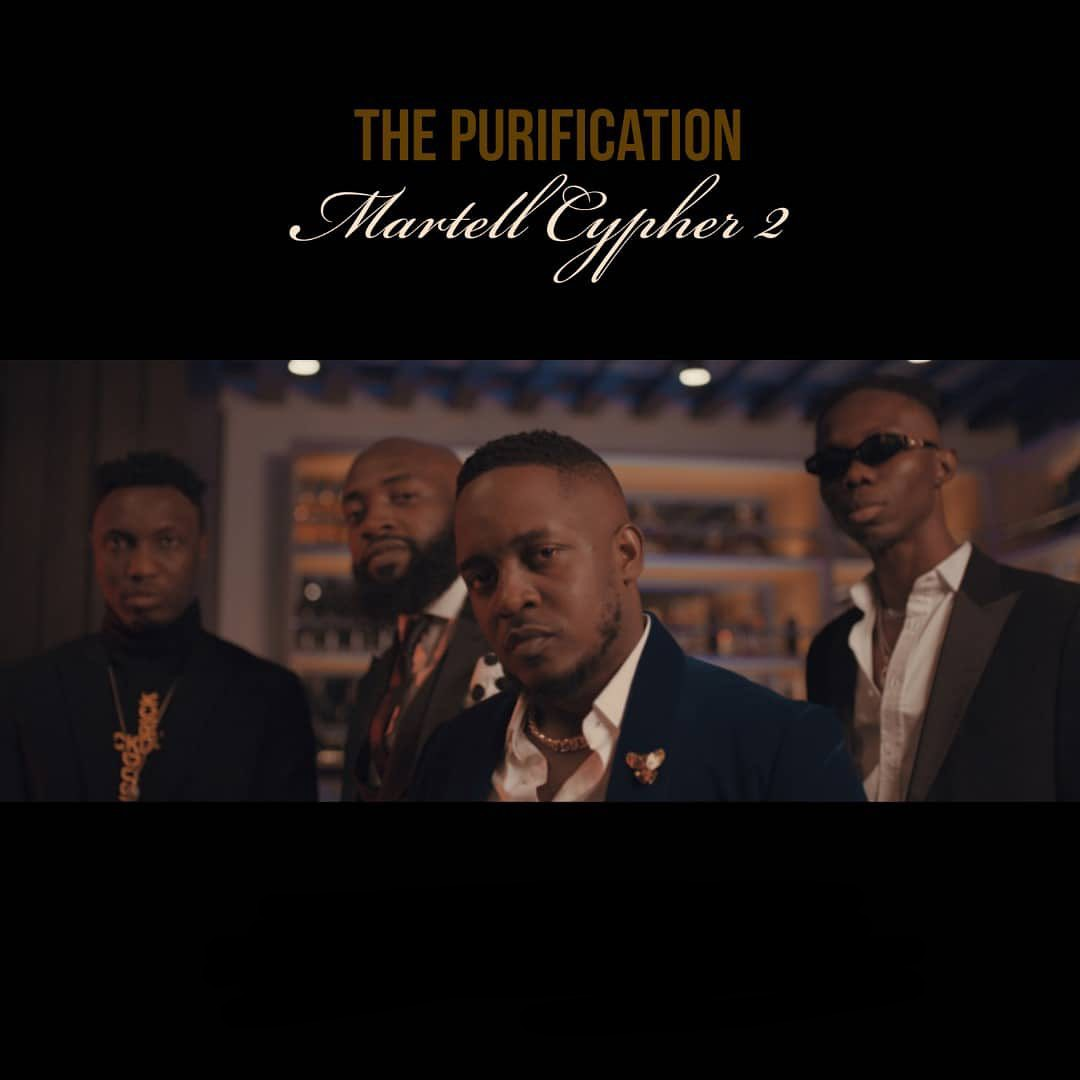 M.I Abaga, Blaqbonez, A-Q & Loose Kaynon Martell Cypher 2 Mp3 Download