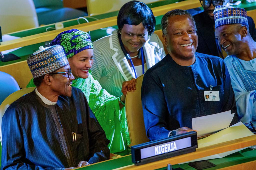 Photos Of Buhari & Other Presidents At UN General Assembly 2