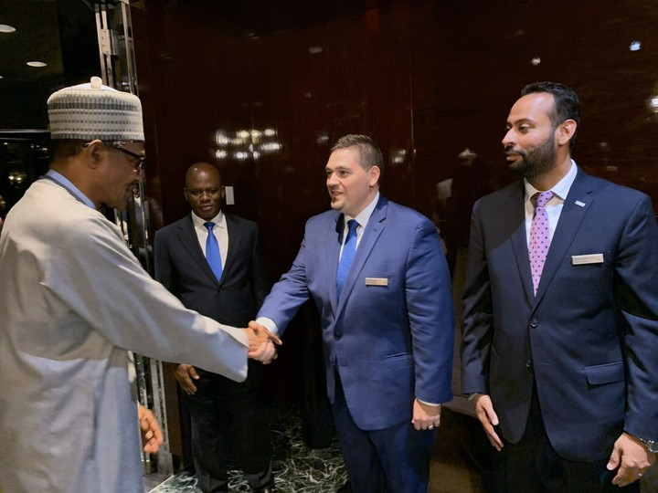 Photos Of Buhari & Other Presidents At UN General Assembly 7