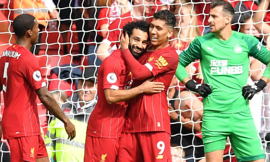 VIDEO: Liverpool 3 - 1 Newcastle United