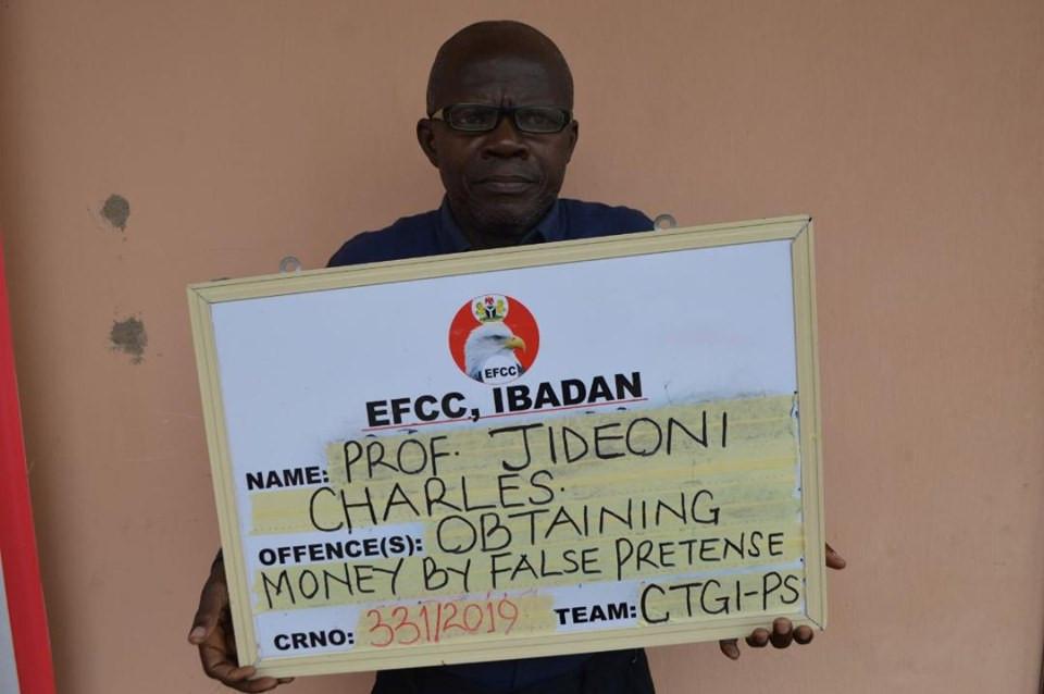 EFCC Arrests OAU Professor For Fraud
