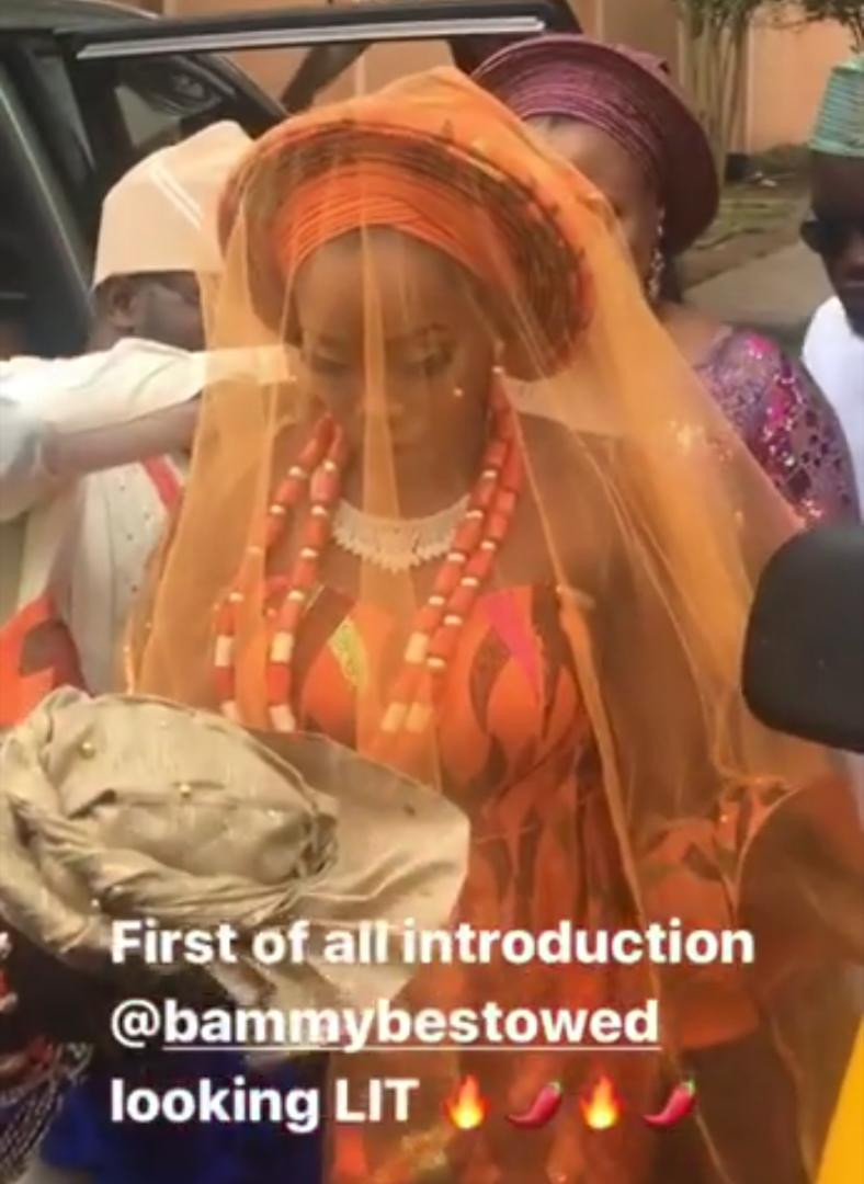 #BamTeddy2019: See First Photos From Bam Bam and Teddy A's Traditional Wedding 16