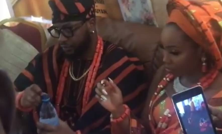 #BamTeddy2019: See First Photos From Bam Bam and Teddy A's Traditional Wedding 18