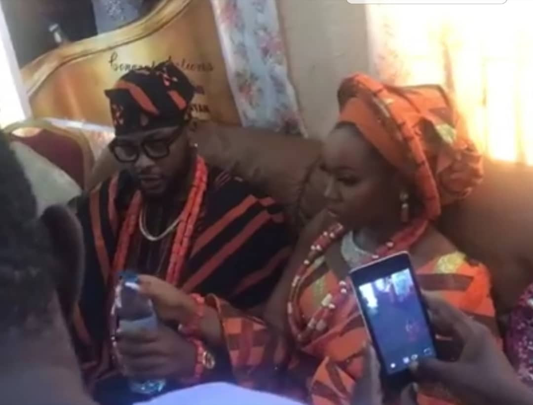 #BamTeddy2019: See First Photos From Bam Bam and Teddy A's Traditional Wedding