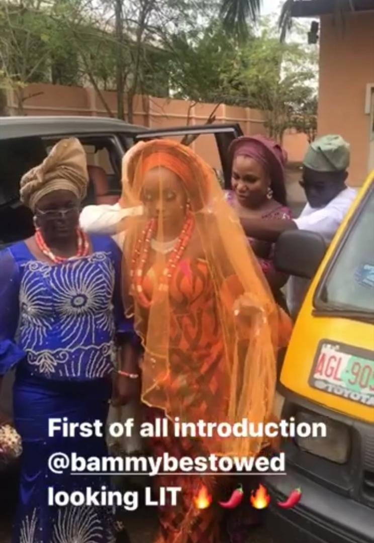 #BamTeddy2019: See First Photos From Bam Bam and Teddy A's Traditional Wedding 13
