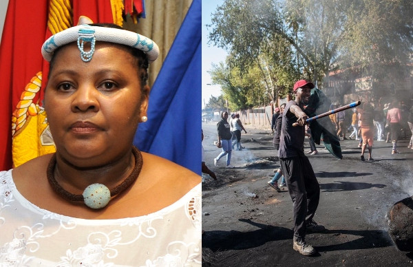 #Xenophobia: South Africa Is An Angry Nation, Government Can't Stop Attacks — Defence Minister Nosiviwe Mapisa-Nqakula