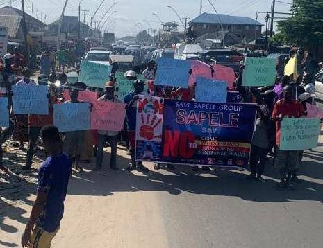 Delta Youths Protest Against 'Yahoo Yahoo' In The State