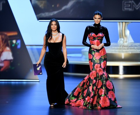 Kim Kardashian And Kendall Jenner Mocked By Audience At The Emmys