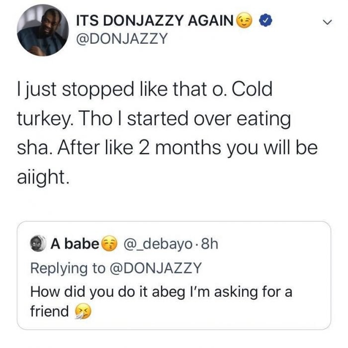 """""""Today Makes It A Year Since I Quit Smoking"""" — Don Jazzy Reveals"""