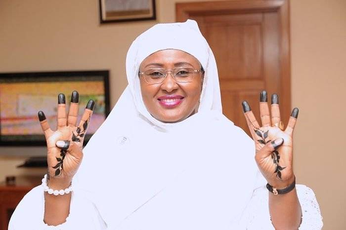 COVID-19 Is A Sign That God Is Not Happy With Us – Aisha Buhari