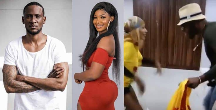 Frodd and Mercy Seen Dancing Amid A Fight Between Omoshola and Tacha (Video)