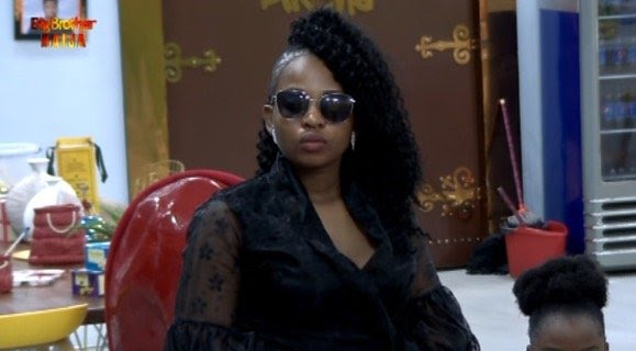 #BBNaija: Cindy Evicted From The Big Brother House