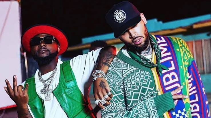 Davido To Release Another Song With Chris Brown Next Week