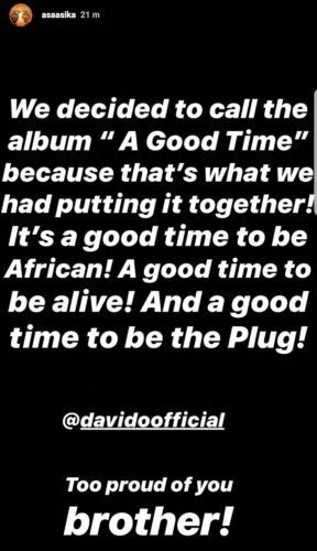 Davido Reveals The Title Of His Forthcoming Album