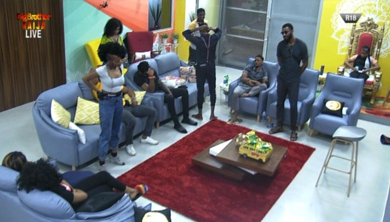 #BBNaija: Tacha, Khafi, Mike & Seyi Up For Possible Eviction